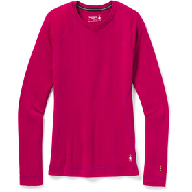 Smartwool Merino 250 Maglietta Girocollo Baselayer Donna, very berry heather
